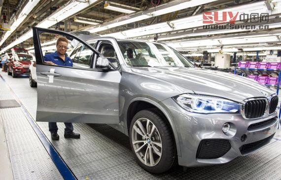 2014款宝马x5美国工厂下线